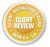 Attorney Brandon S. Atwater awarded Client distinction award