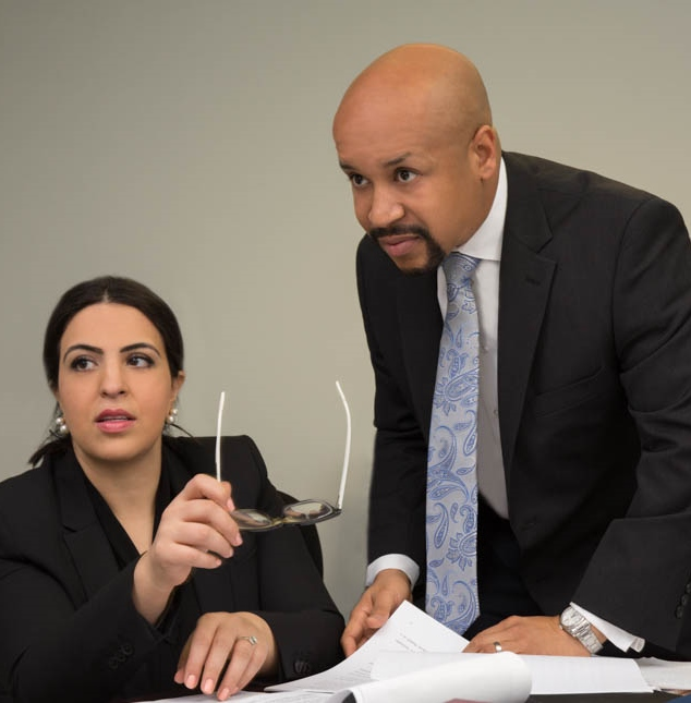 Attorneys Brandon S. Atwater and Sara Fathi-Nejad